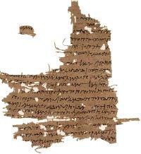 Fragment of The Gospel of Mary Magdalene...
