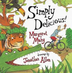 , by Margaret Mahy, illustrated by Jonathan Allen Who will eat the double-dip-chocolate-chip-and-cherry ice cream with rainbow twinkles and chopped-nut sprinkles? Used Books, My Books, Margaret Mahy, Kinds Of Reading, Cherry Ice Cream, Catchy Phrases, Children's Picture Books, Sensory Activities, Read Aloud