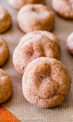 The BEST Snickerdoodle Cookies - get the recipe at sallysbakingaddiction.com