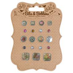 Boutons bijoux (20 par pack)