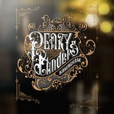 Peaky Blinders handlettered fan art on Behance Peaky Blinders Poster, Peaky Blinders Wallpaper, Peaky Blinders Series, Peaky Blinders Quotes, Vintage Typography, Typography Letters, Typography Logo, Graphic Design Typography, Ink Master