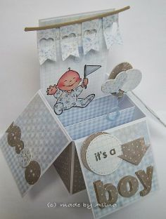 made by Alina - these boxes  are amazing!  I so need to try and make one!