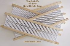 Simple Guide for your Rigid Heddle Reeds – Schacht Spindle Company