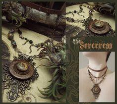 the Sorceress by luthien27.deviantart.com on @deviantART