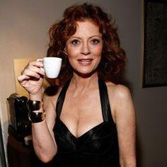 Susan Sarandon #celebrities #tea