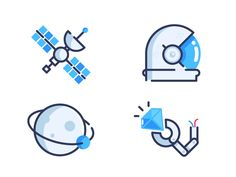 Space by MBE #space #icons