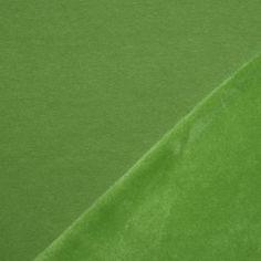 Alpenfleece Sweatshirt Stoff Lime