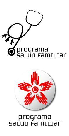 Web y marca Programa Salud Familiar Min. Sal. Argentina by Gabriel Benatar, via Behance