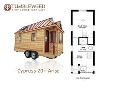 Cypress Tumbleweed Tiny Homestiny