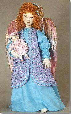 Dollmaker's Angel  - Kezi Cloth Doll Pattern
