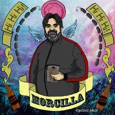 #morcilla #moshisha #elmarginal Netflix, Stencils, Fictional Characters, Art, Mugs, Poems, Display, Backgrounds, Illustrations