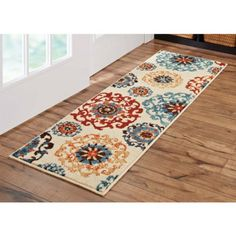 Better Homes and Gardens Suzani Area Rug or Runner, Beige