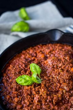 Marta's Rustic Pork & Beef Ragu - Smoky and spicy flavours from paprika and nduja make this hearty sauce a winner for us. Have it with eggs for breakfast, or pasta with dinner. Winter warmer for sure! | http://wandercooks.com