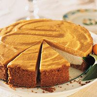 Pumpkin Chiffon Cheesecake (via Parents.com)