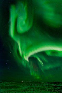 Hellnar, Iceland-Aurora