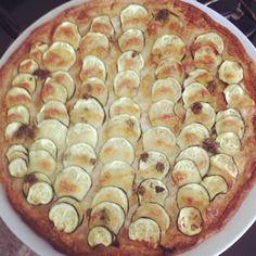 tarte fine aux courgettes
