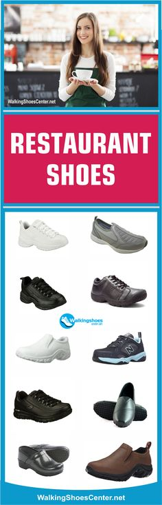 Restaurant Shoes, Best Restaurant shoes, best shoes for bartenders, Best Bartending Shoes, Best waitress shoes, best shoes for waitressing, slip resistant shoes for men, best shoes for waiters, Best shoes for chef, Best Standing all day. Read more: https://walkingshoescenter.net/best-shoes-for-waitressing/