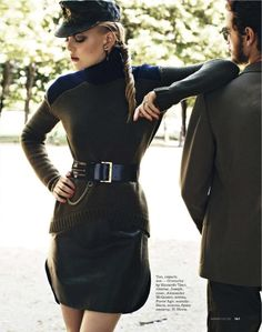 anne-sophie monrad by thomas nutzl for elle russia september 2012   visual optimism; fashion editorials, shows, campaigns & more!