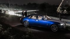 A Rolls Royce Ghost II at the 24h Race at the Nürburgring Nordschleife