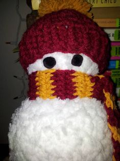 Knit Snowman by storerboughtcreations