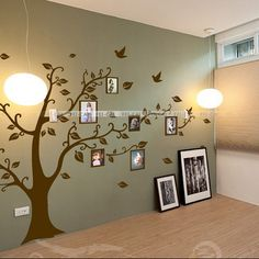 Customer Image Gallery For BIG Tree With Bird Wall Decal Deco Art - Wall decals hallway