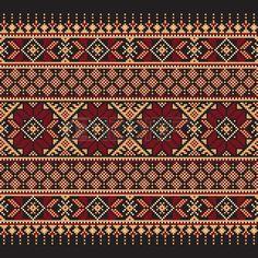 Vector illustration of ukrainian folk seamless pattern ornament Ethnic ornament…
