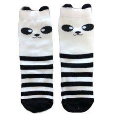 Cute Cartoon Animal Infant Socks Many Lovely Style In Tube Socks Cute Cartoon Animals, Tube Socks, Knee High Socks, Panda, Infant, Unisex, How To Wear, Cotton, Kids
