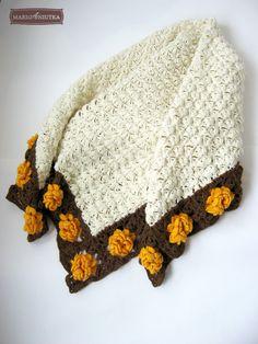 """This """"Flower Meadow Blanket"""" is so beautiful!"""