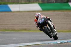 Casey Stoner testing the Honda RCV1000R Production Racer