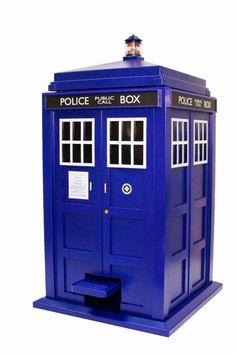 Cabina TARDIS Papelera | Merchandising Películas
