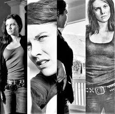 Maggie The Walking Dead Season 6 B&W