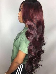 Long Curly Hair, Curly Hair Styles, Natural Hair Styles, Thick Hair, Straight Hairstyles, Braided Hairstyles, Black Hairstyles, Hairstyles Haircuts, Body Wave Hairstyles
