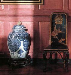 Beautiful blue white ginger jar.