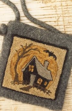 Haunted House Punch Needle PatternButtermilk Basin by Buttermilk Basin ~ Staci…