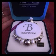 Bella Perlina silver/white bracelet Never worn! Looks great with everything! Bella Perlina Jewelry Bracelets