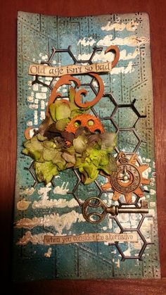 Mixed Media Art Techniques | ... long tag with a mixed media technique ... | Mixed media and