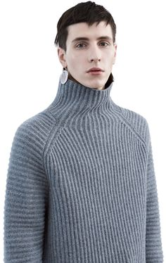 ribby sweater + jeans / skirt ::: ACNE STUDIO