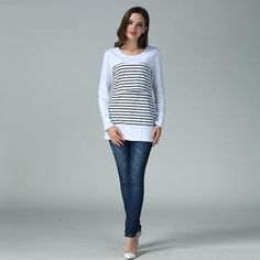 Autumn Winter Maternity Lactation Clothes Out Feeding Clothes Costume For Mommy Nursing Tops Breastfeeding Clothes