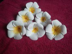 Learn How To Make Foam Plumeria Flower - YouTube