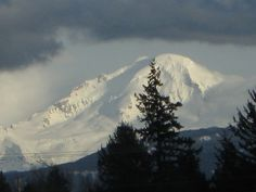 Mt. Baker, Washington.   March 17, 2010.  Veiw from Hwy 1,  Abbotsford BC
