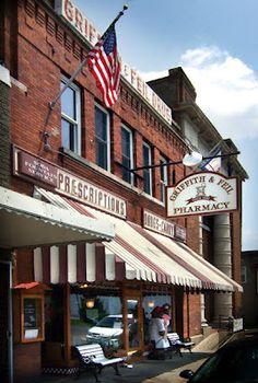 Griffith & Feil, the local pharmacy.A landmark in Kenova, WV