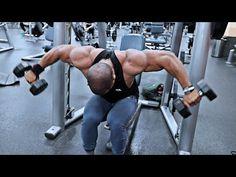 Arm Workout Men, Deltoid Workout, Chest Workout For Men, Gym Workout Videos, Chest Workouts, Strength Workout, Gym Workouts, Shoulder Mass Workout, Shoulder Workouts For Men