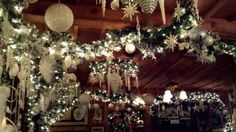 restaurant christmas decorations - Google Search