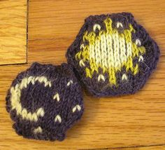 Ravelry: Project Gallery for Hexipuff Charts: Celestial pattern by Jennifer Fabian