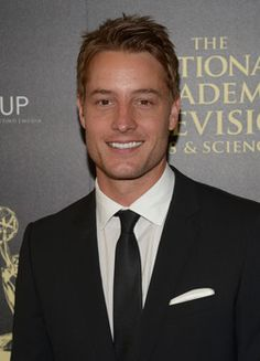 Justin Hartley as Adam Newman.