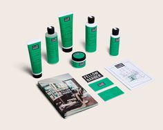 Branding and Complimentary Package Design for upscale barbershop, Fellow Barber by Roanne Adams Brand Identity Design, Branding Design, The Great Discontent, Innovation News, Men's Grooming, Packaging Design Inspiration, Corporate Identity, Brand Packaging, Projects