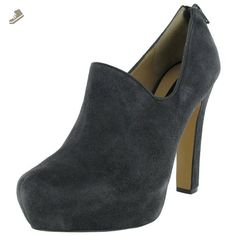 Steve Madden Women 'Perin' Pump Shoes, Grey Suede, Size 9.5 - Steve madden pumps for women (*Amazon Partner-Link)