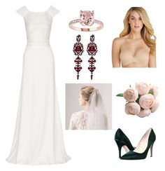"""""""Wedding"""" by nunki-susilo on Polyvore featuring Rime Arodaky, Kate Spade and Lily of France"""