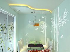 Vinyl Wall Decal wall Sticker Wall Decor Bamboo by walldecals001, $76.00