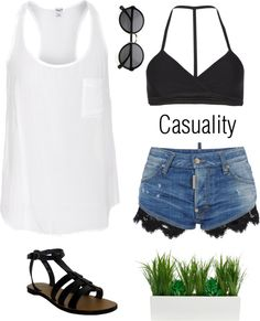 """#11 Casuality"" by vanessajang on Polyvore"